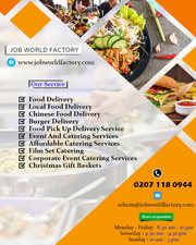 Weekly Meal Plan Delivery London | Job World Factory Food Delivery