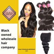 Black owned wholesale hair company